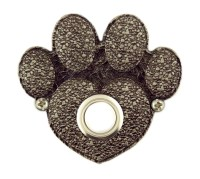 Paw Print decorative Doorbell button cover by ...