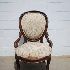 Victorian Parlor Chairs Plastic Outdoor Home Depot Antique Ladies Chair