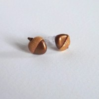 Acorn Earrings Small Earrings Hypoallergenic Earrings