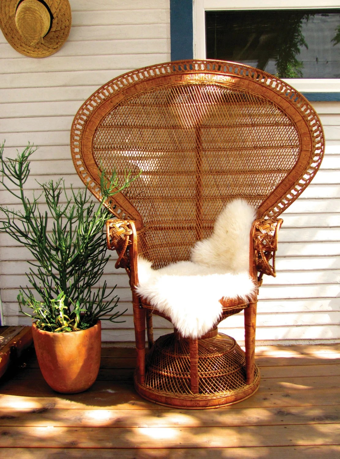 rattan peacock chair ps4 reserved original iconic 1970 39s wicker