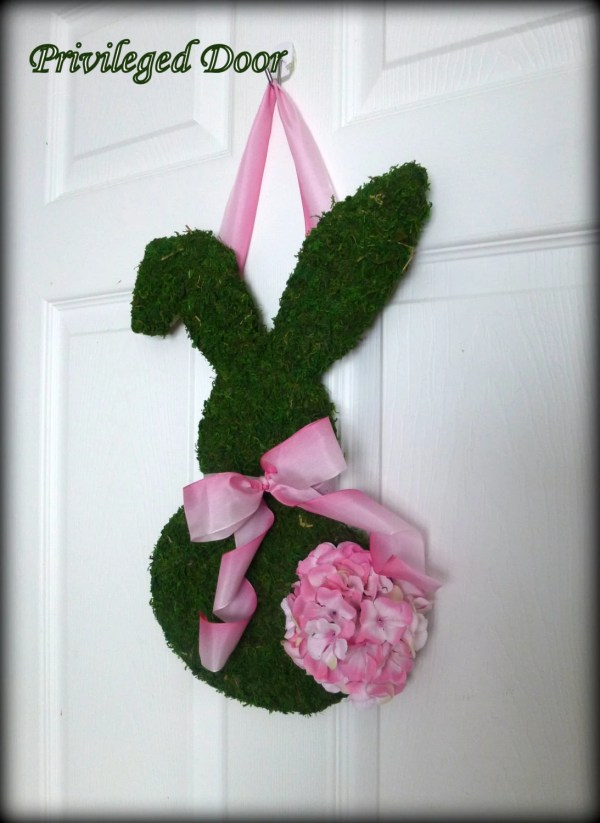 Moss-Covered Wreath Easter