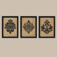 Tan Black Wall Art Bedroom Pictures CANVAS or Prints