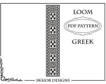Loom Beading Pattern Tribal Bracelet Geometric Cuff Seed