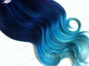 items similar cobalt blue ombre