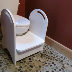 Wooden Potty Training Chair Herman Miller Office Alternative Deluxe Wood Step Stool White