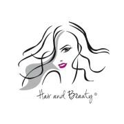 hair and beauty logo ideal