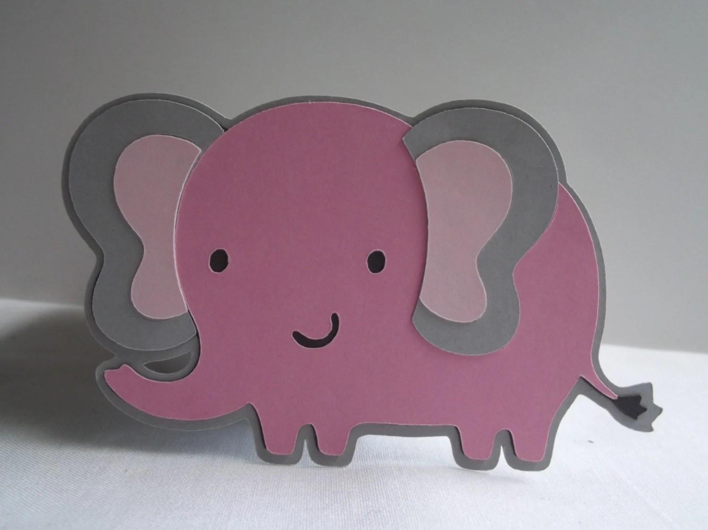 Elephant Cuts 8 2 5 Elephant Cut Outs Baby