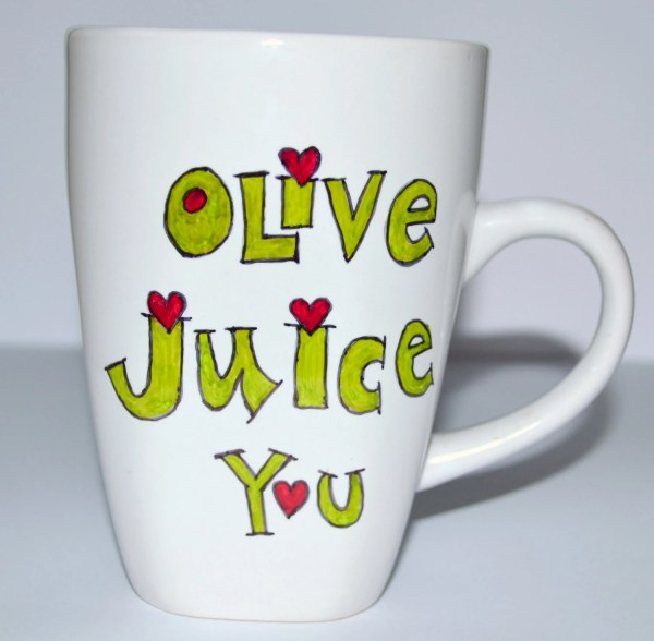 Olive Juice Coffee Mug Love Family Guy Quote 10