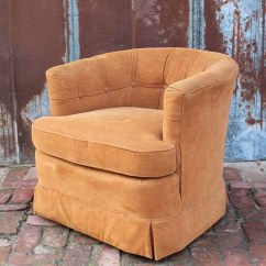 Chair Stool Retro Baby Trend High Recline Vintage Hollywood Regency Tufted Barrel Arm By Drexel