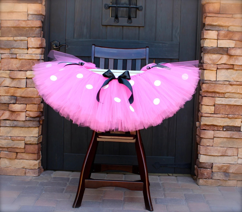 high chair tutu luraco pedicure minnie mouse pink