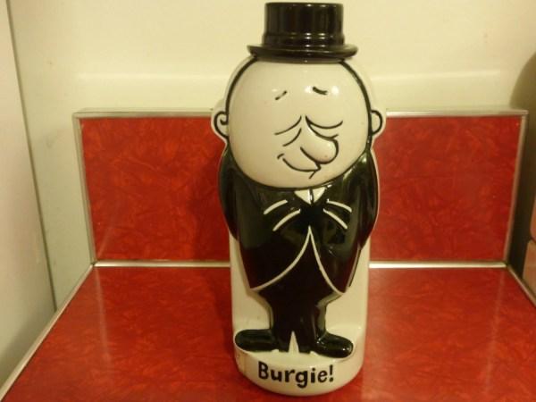 Vintage 1971 Burgermeister Beer Promotional Decanter Great
