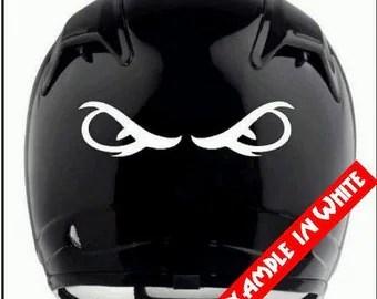 Reflective Motorcycle Helmet Decals Best Helmet - Custom reflective helmet decals stickers