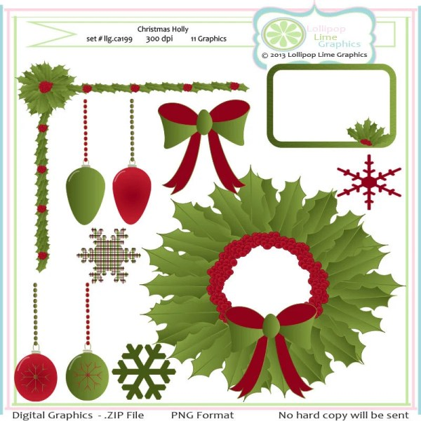 items similar christmas holly