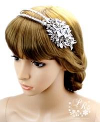 wedding hair bands wedding earrings zirconia earrings ...