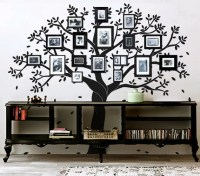 Tree wall decal photo frame decal by newpoint on Etsy