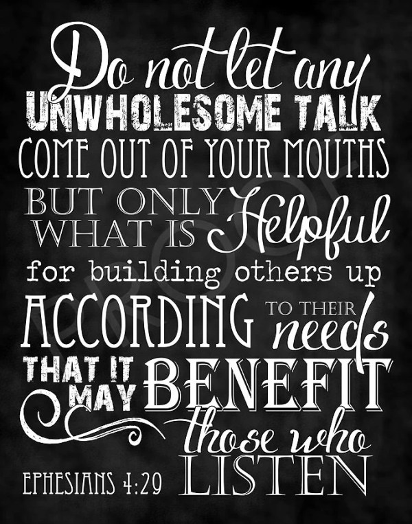 Ephesians 4 29 Etsy