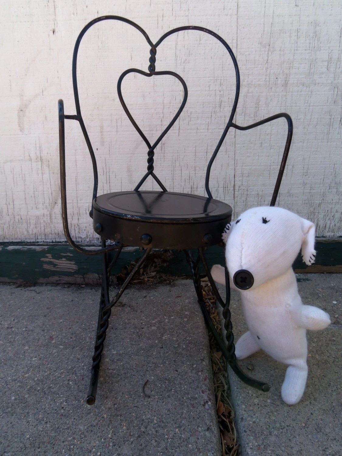 wrought iron rocking chair benchmaster ventura leather and storage ottoman vintage doll sized rocker