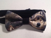 wolf bow tie animal accessories bow ties for men pre tied