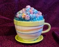 Coffee Cup Lollipop Candy Bouquet
