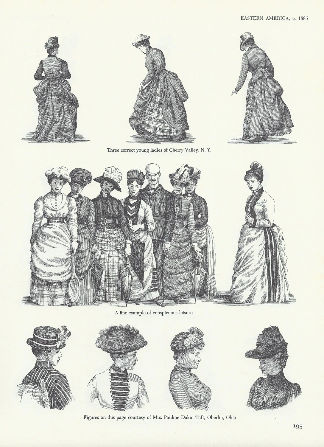 Items similar to Victorian Gilded Age 19th Century Women Historical Fashion Period Costume