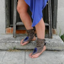 Barefoot Sandals Leather Soleless