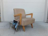 Bouncing Rocker Paoli Lounge Chair Mid Century ModernArm