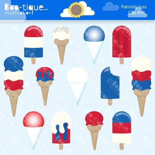 small resolution of red white and blue ices clipart july 4th clipart ice cream clipart independence day clip art snow cones clipart popsicles clip art