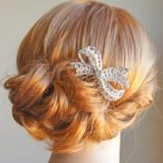 wedding hair comb swarovski crystal