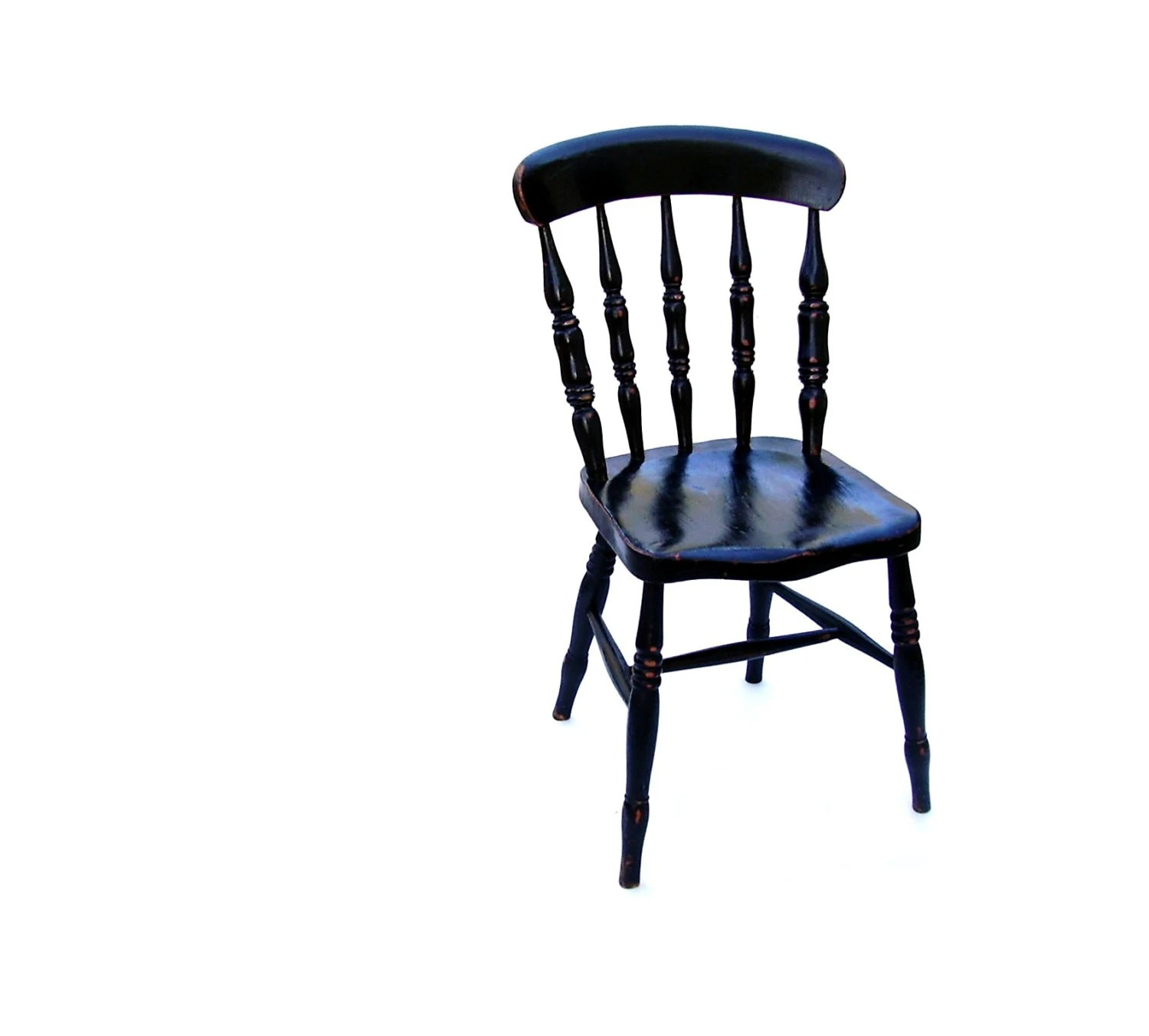 black spindle chair office yishun antique wooden windsor painted wood