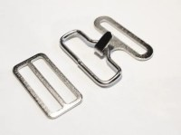 BOW TIE HARDWARE Bowtie Hardware 48 Sets Silver / by