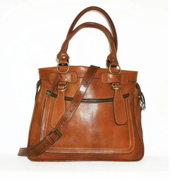 Genuine Leather Handbag Cross-body Purse Shoulder Bag Rina