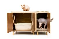 furniture cat litter box cabinet  Roselawnlutheran