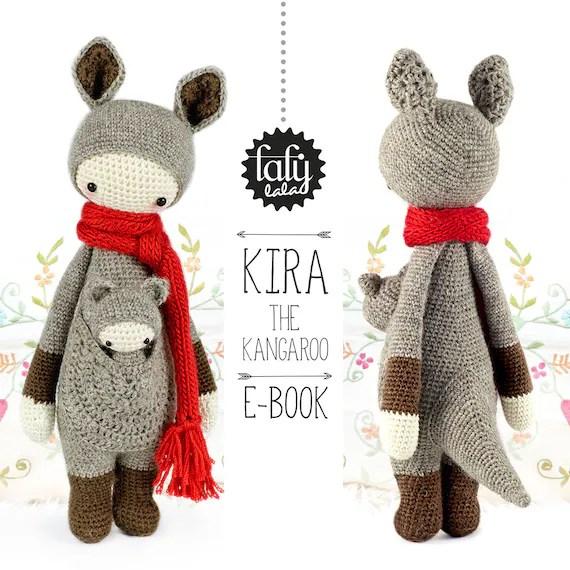 KIRA le kangourou - PATRON au crochet de lalylala