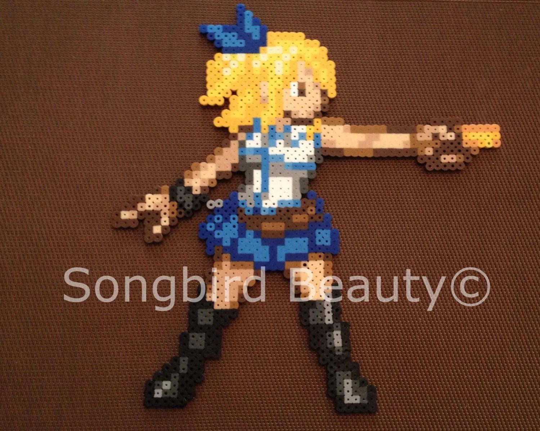 Lucy Heartfilia Fairy Tail Perler Beads Geekery By