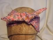 head band hair ribbon neck scarf
