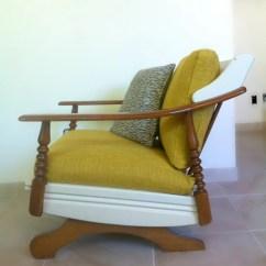 Midcentury Rocking Chair Diy Adirondack Cushions Vintage Mid Century Modern 1960 39s