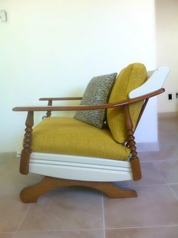 mid century rocker chair zero gravity pool vintage modern 1960 39s rocking