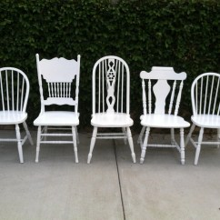 Farmhouse Chairs Over Sized Chair Kitchen Set Of 5 Dining By