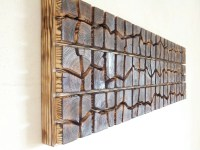 Unique Wooden Wall Art Sound Wave 40 x 12 x by ...