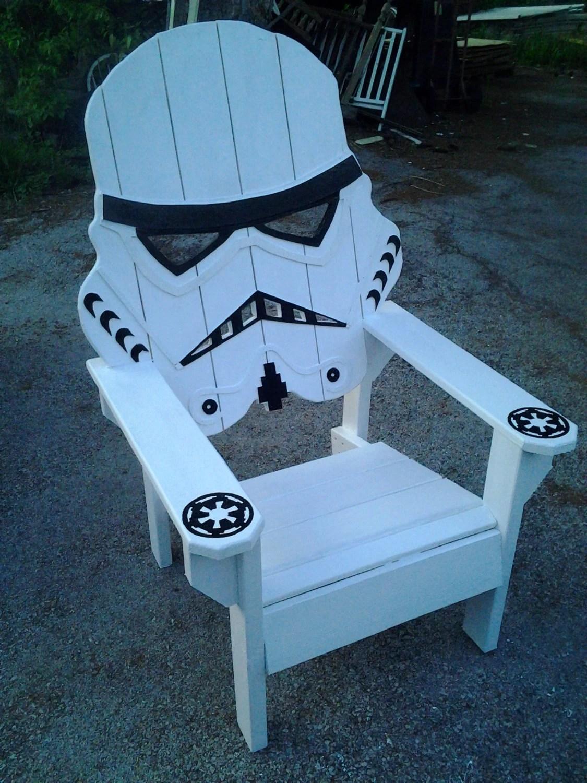 star wars storm trooper chairAdirondack chair Yard