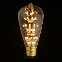 E27 LED Edison Fireworks Light Bulb 110v 220v by ...