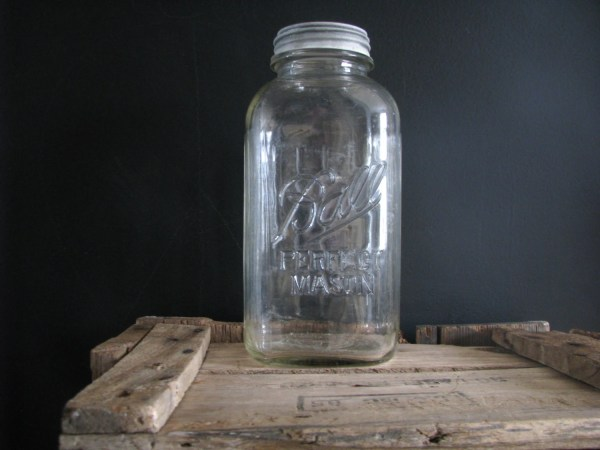 Ball Jar Mason Gallon Zinc Lid Refugeca2015