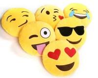 PLUSH EMOJI PILLOW | SMILEY | SMIRK | HEART FACE | SMILEY ...