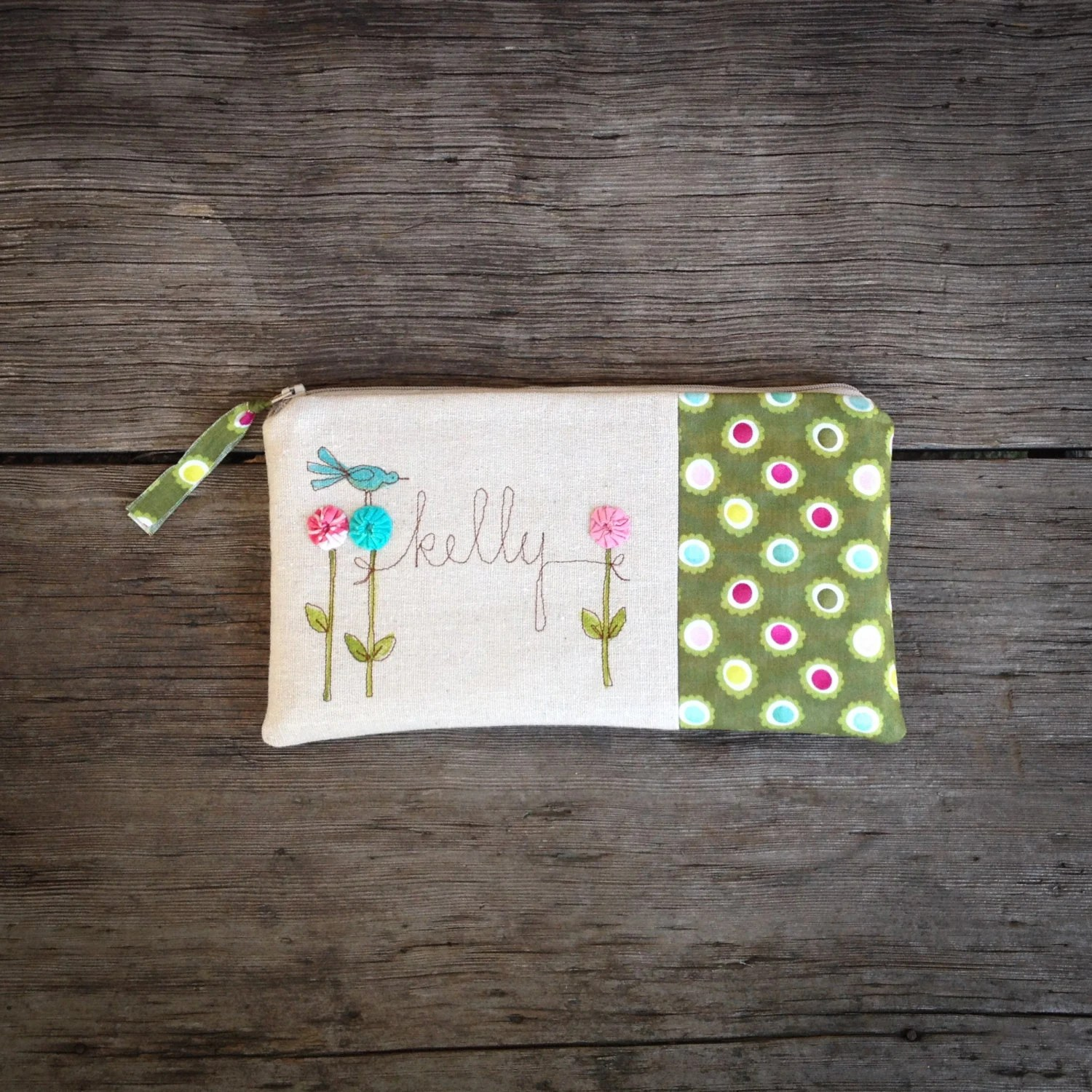 Baby Shower Hostess Gift Thank You Gift Clutch by MamaBleuDesigns