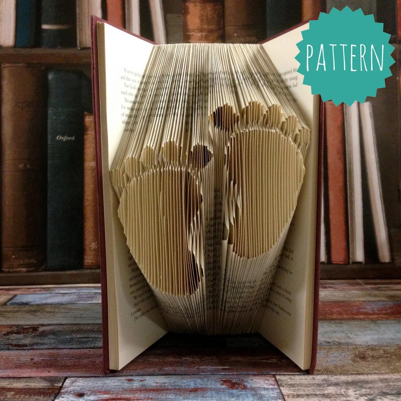 folded book art patterns