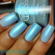 ice blue vegan nail polish