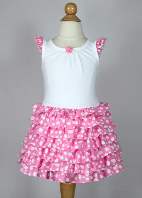 Toddler Girl Ruffle Dress Pattern