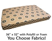 Items similar to XL Dog Bed with Foam Insert (Flippable ...