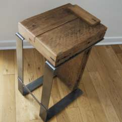 Handmade Wooden Chairs Wheelchair Zumba Dvd Reclaimed Wood Bar Stool Industrial