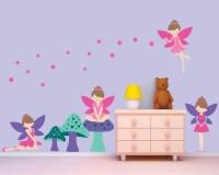 Fairy Wall Decal Fairies Wall Decal Girls Reusable Wall